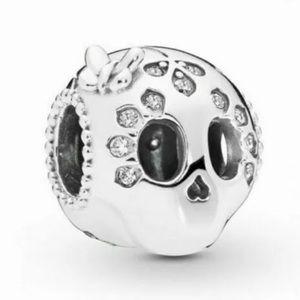 Jewelry - NEW•Silver 925 Sugar Skull DIY charm/bead